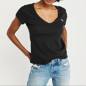 Abercrombie Soft A/F Icon Short Sleeve Tee Shirt